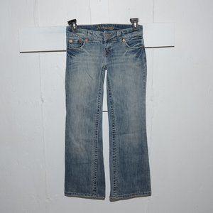 American eagle boyfriend womens jeans sz 4 S  205